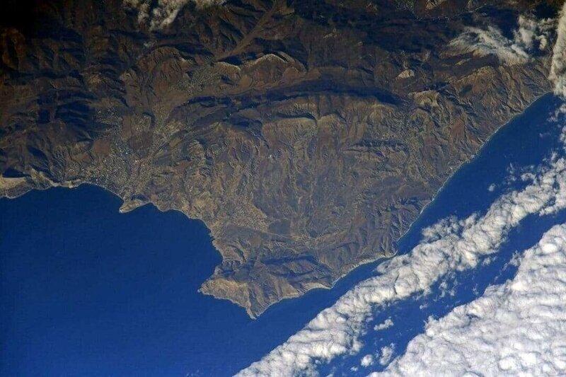 Крым получил поздравление из космоса
