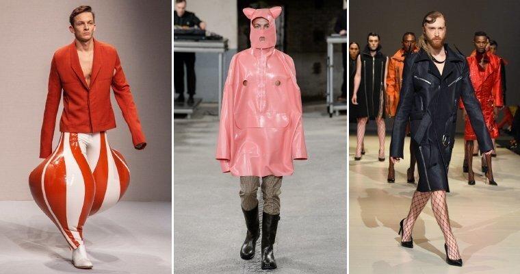 Мужская мода безумного года