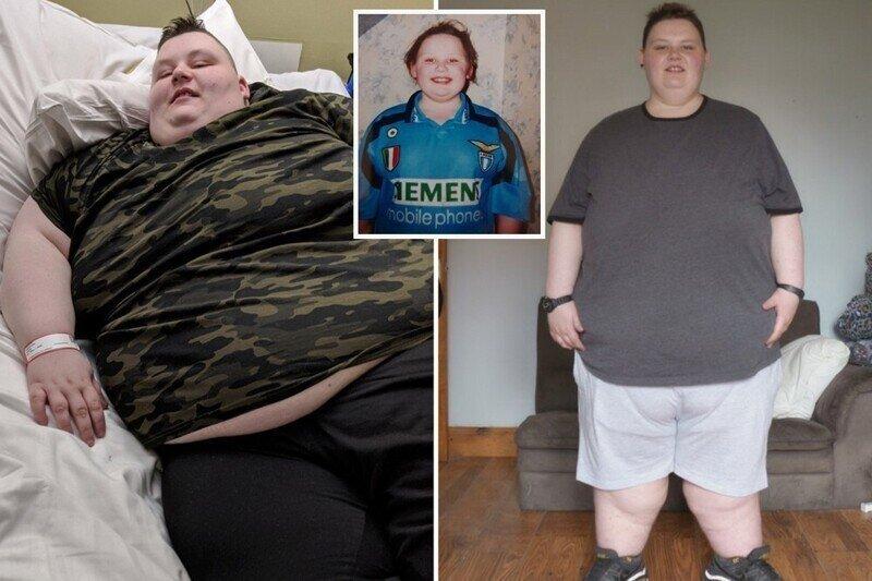 260-килограммовая британка похудела на 80 килограммов ради операции по смене пола