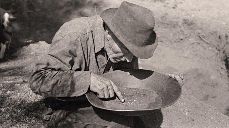 """24 января 1848 года...  Началась Калифорнийская """"золотая лихорадка"""""""