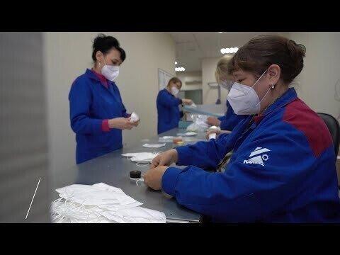 Производство защитных масок — на «КАМАЗе»