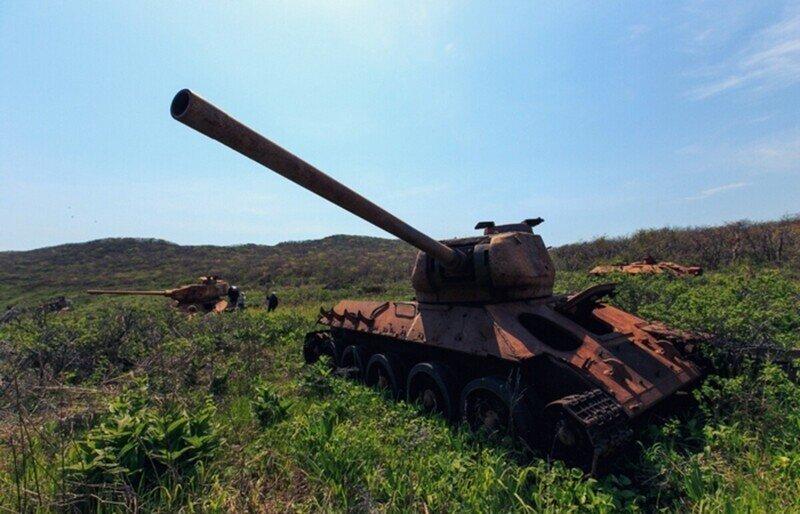 Фотопутешествие на Остров погибших танков