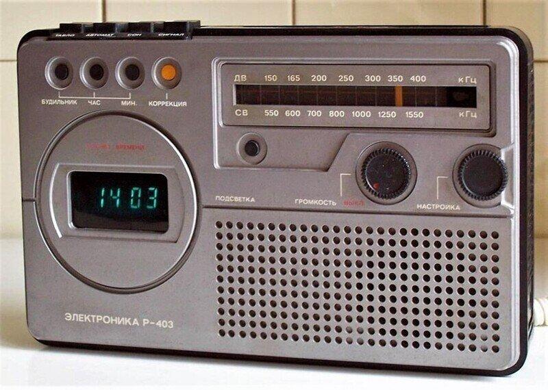 10 портативных радиоприемников СССР 1980-х