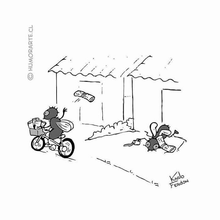 Ироничные комиксы  обо всем на свете, которые сделают ваш день