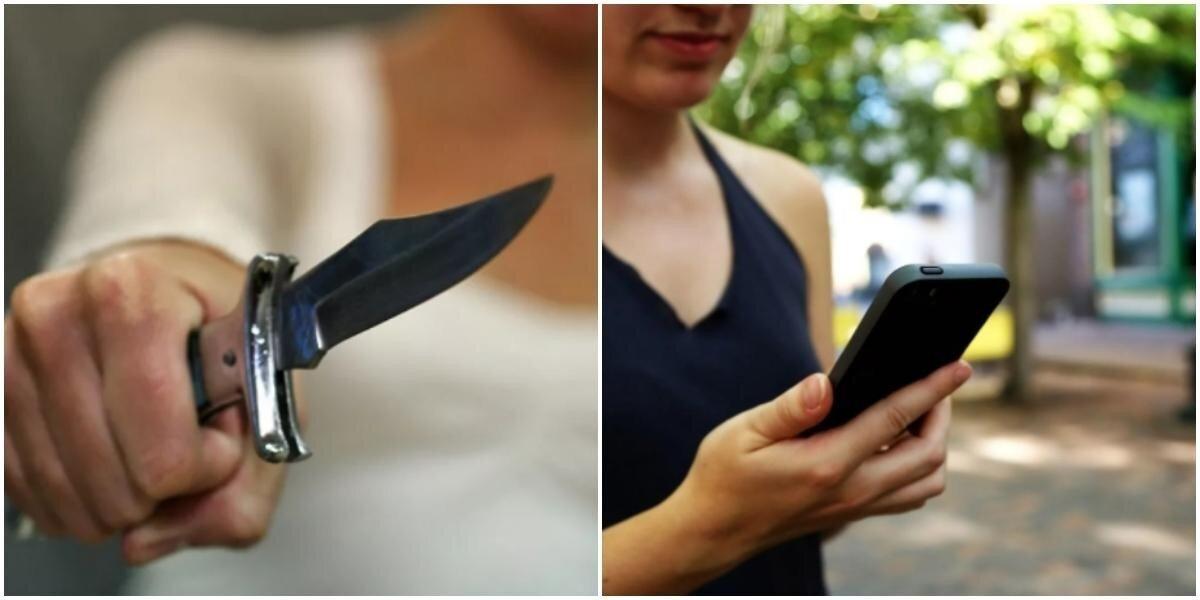 Жена не узнала себя на интимных фото и набросилась на мужа с ножом в порыве ревности