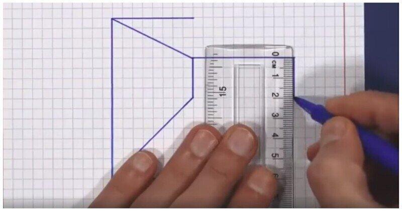 Как нарисовать иллюзию 3D-куба