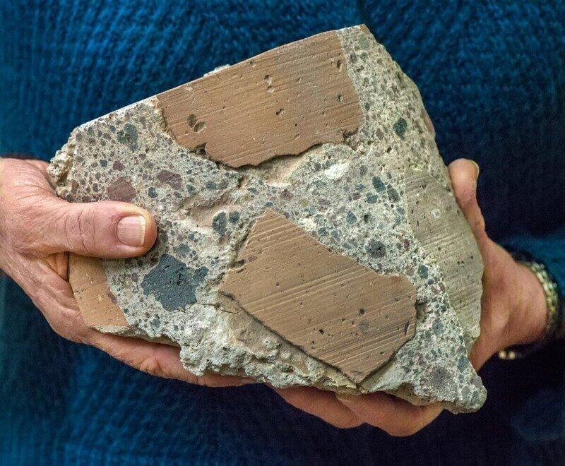 Немного интересного о бетоне во времена до нашей эры