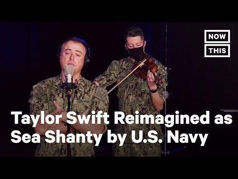 Группа ВМС США превращает песню Тейлор Свифт в морскую хижину ( Чисто-ПОРЖАТЬ)