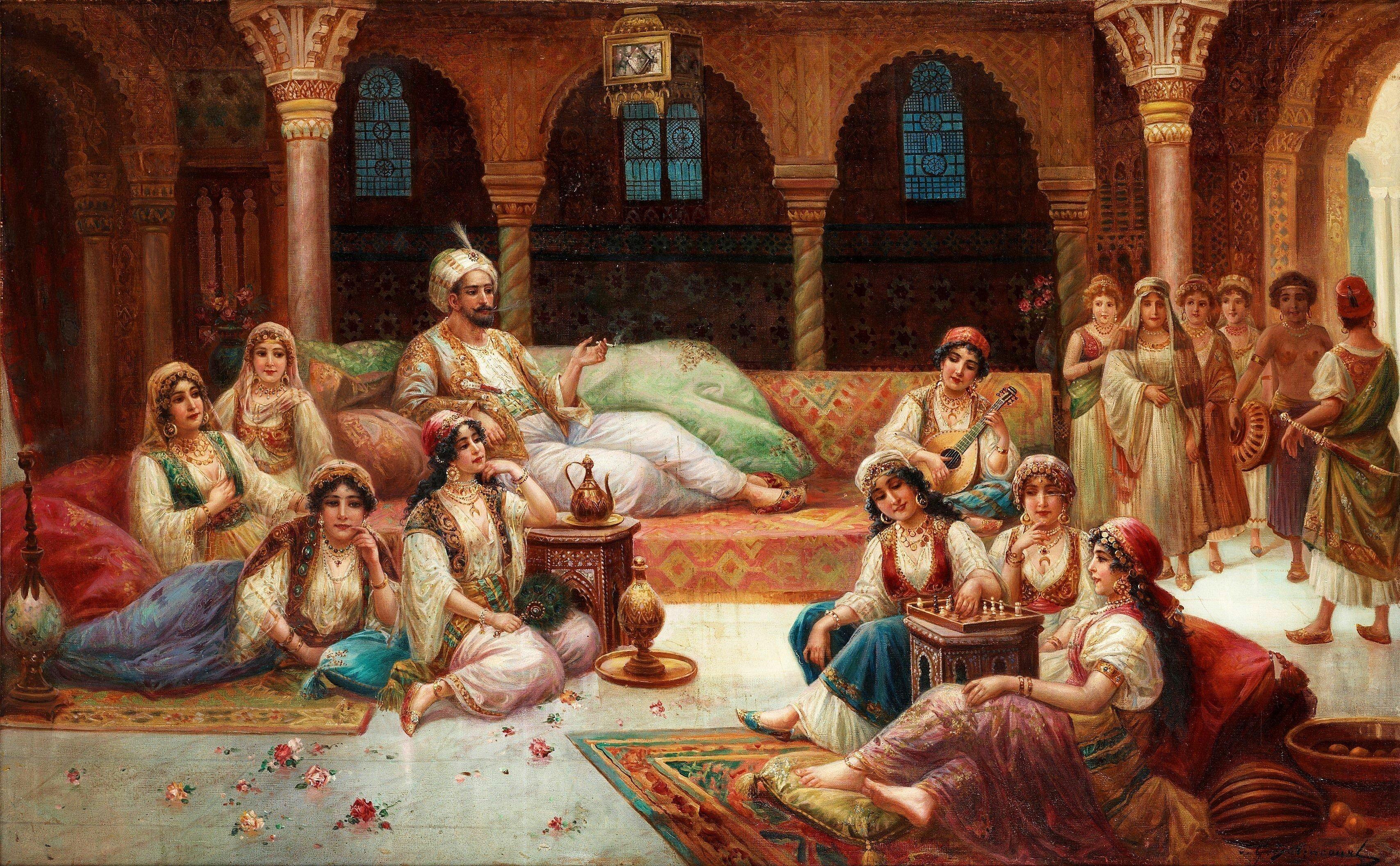 Как жилось наложницам в Османской империи
