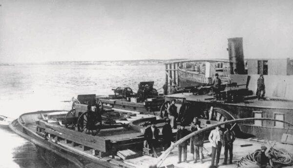 Уничтожение Камской флотилии в устье Чусовой