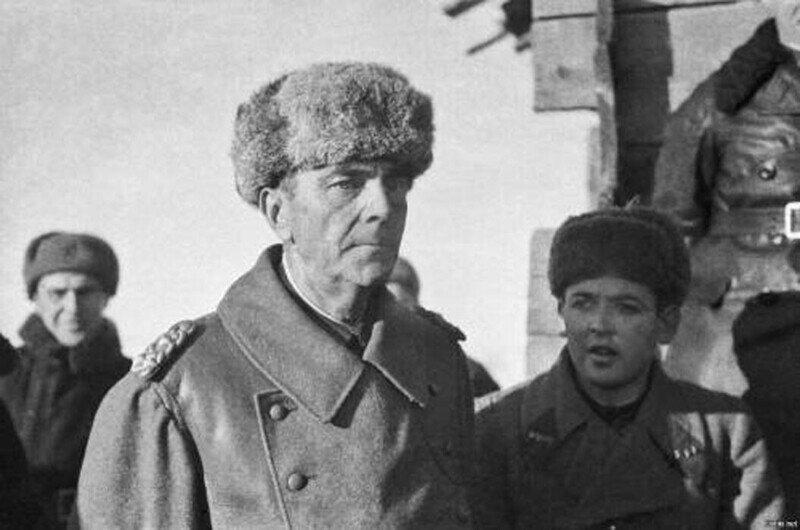 31 января 1943-го года. Фельдмаршал Паулюс сдался под Сталинградом советским войскам