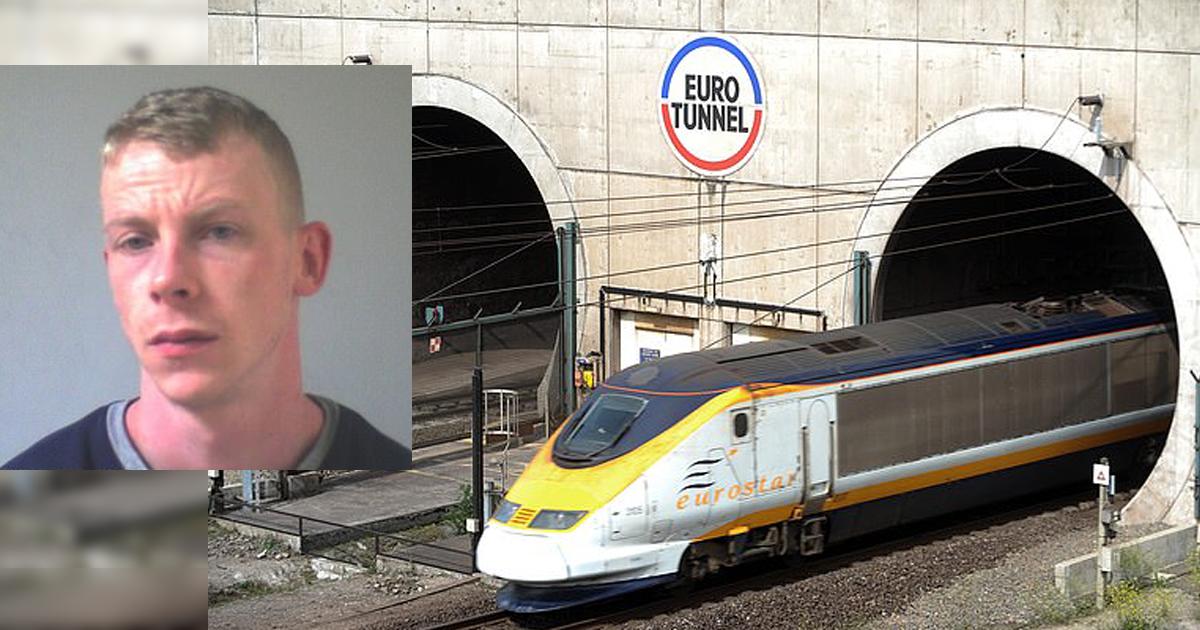 Педофил попытался сбежать из Великобритании через Евротоннель
