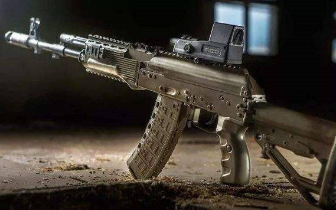 Российский АК-19 - автомат под боеприпасы НАТО
