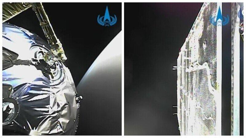 """Китайский зонд """"Тяньвэнь-1"""" отправил свое первое видео с марсианской орбиты"""