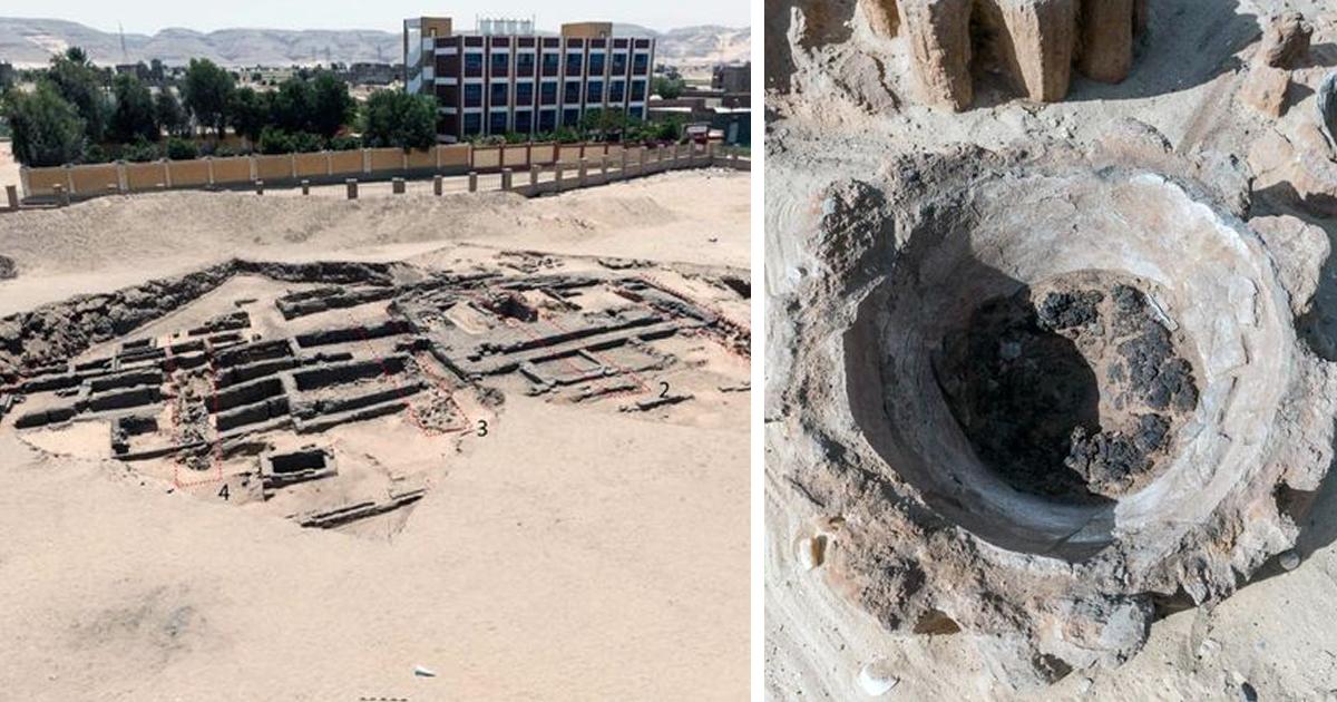 Археологи обнаружили в Египте древнейшую пивоварню в мире