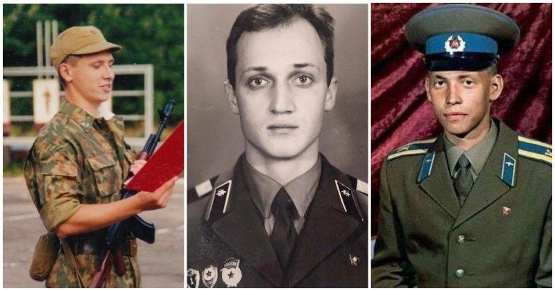 Известные российские мужчины, которые в юности успели отдать долг Родине