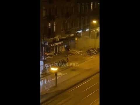 Взрыв банкомата в Нидерландах