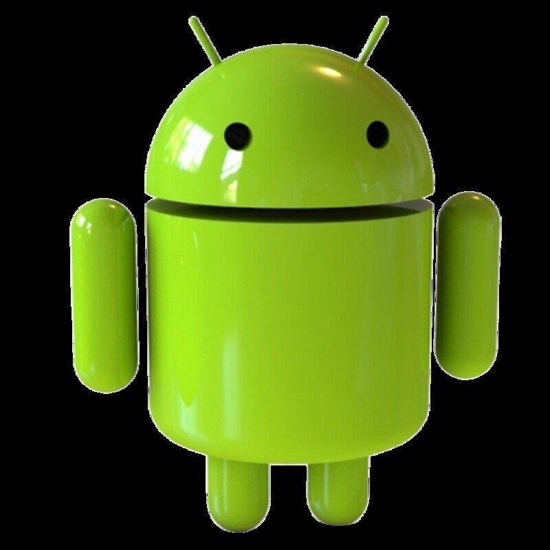 Она нарисовала Android