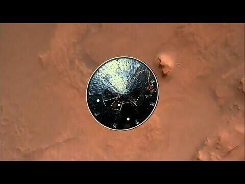 Приземление марсохода Perseverance на Марс