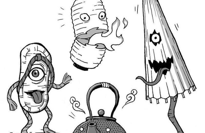 Странные японские сказочные существа