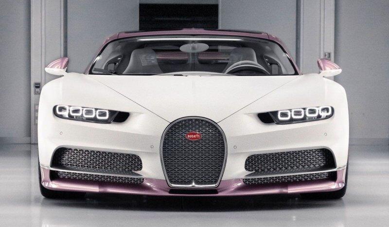 Британец заказал эксклюзивный розовый Bugatti Chiron и подарил его своей жене