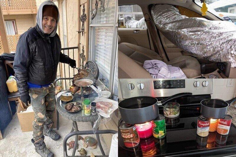 Winterstorm-2021: жители Техаса поделились фото того, как выживали в аномальных для штата условиях