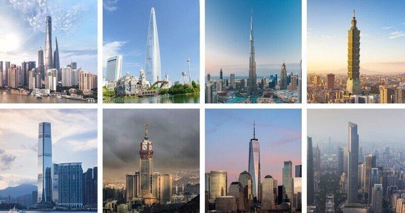 15 самых высоких небоскребов в мире