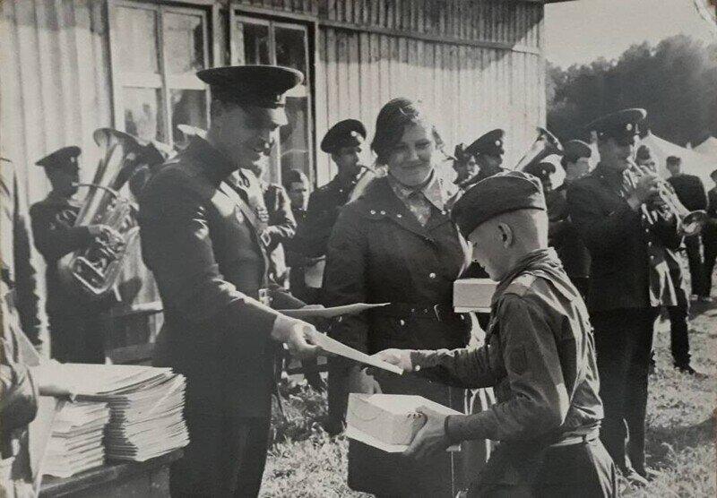 Воинская служба… в пионерском лагере