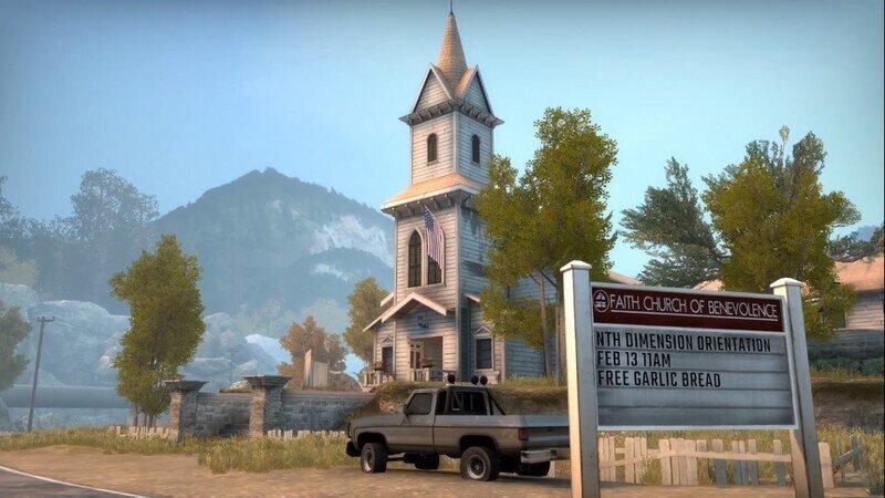 В CS:GO появилась карта в стиле Far Cry 5