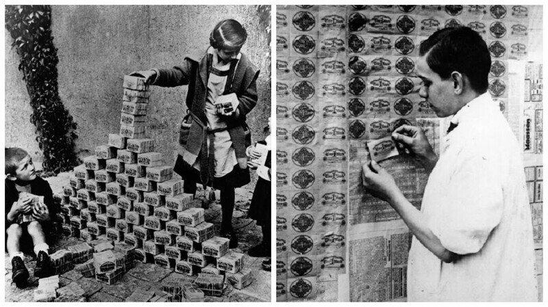 Германия в эпоху гиперинфляции: исторические кадры 1920-х годов