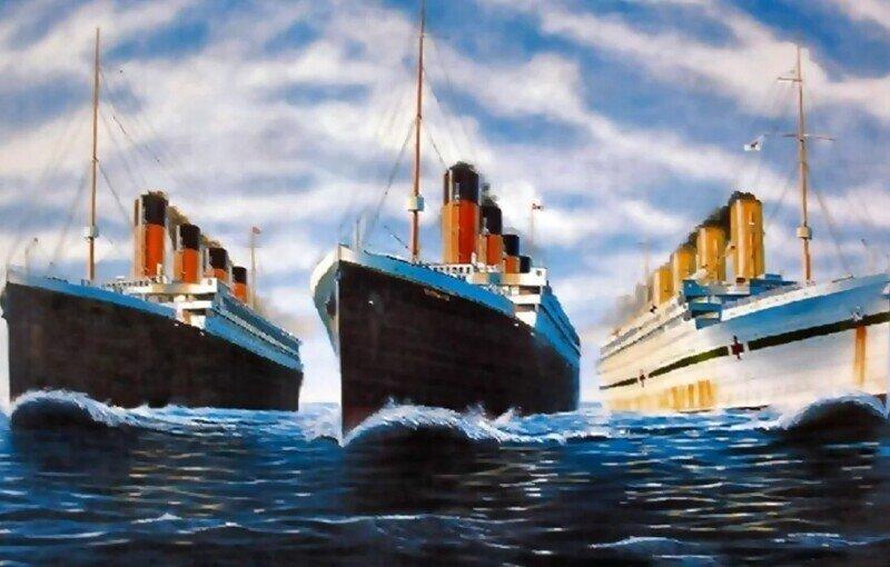 Что случилось с двумя другими Титаниками?