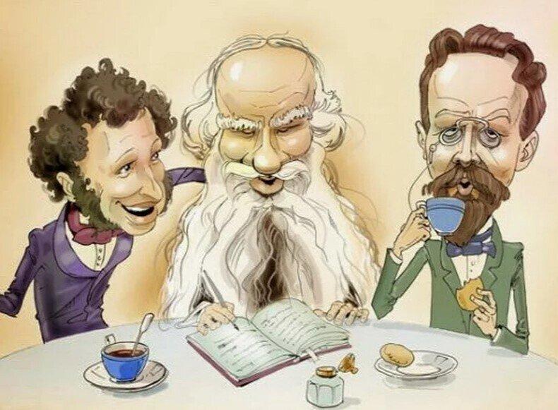 Писатели - шутники. Забавные случаи из их жизни