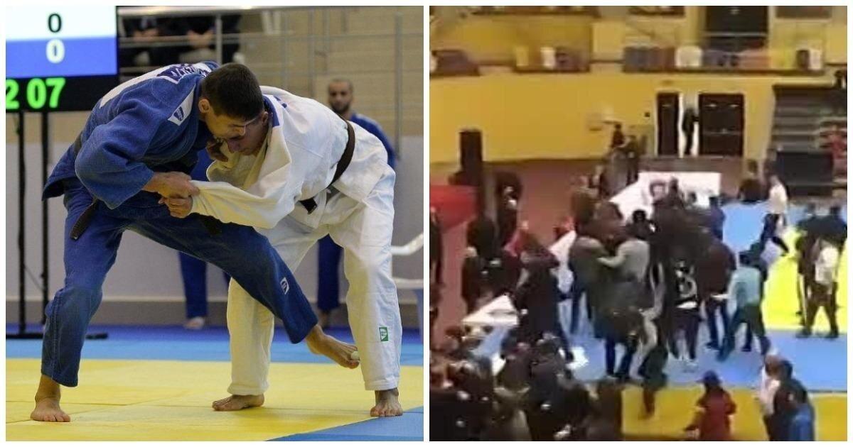 В Дагестане на чемпионате по дзюдо произошла массовая драка