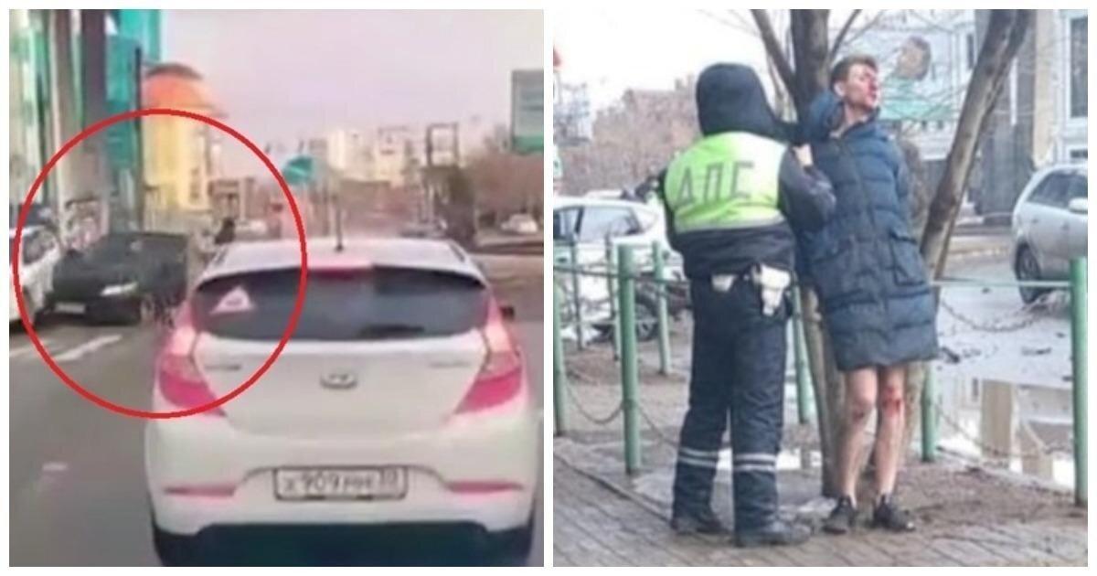 Пьяный сын экс-депутата сбил прокурора с супругой в Астрахани