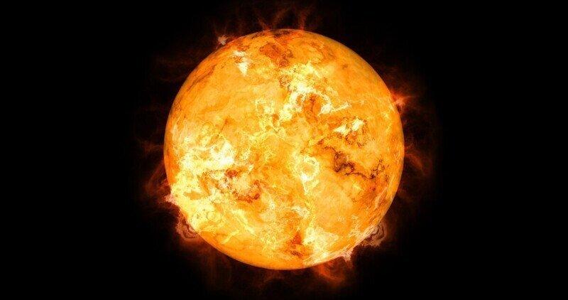 Интересные фотографии Солнца, сделанные с разных планет
