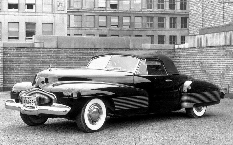Buick Y-Job — шедевр разработанный Харли Эрлом