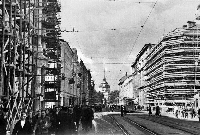 Ленинград 1946 года