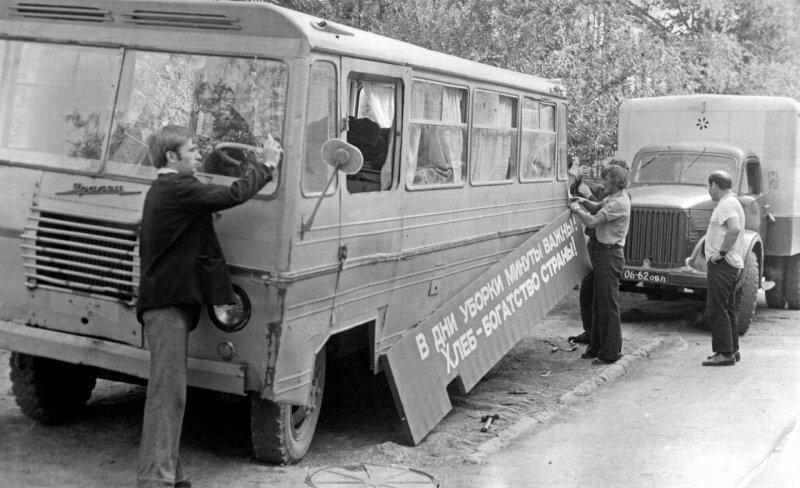 Советские автобусы Уралец-66
