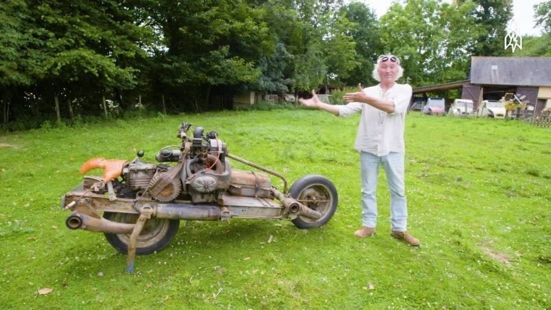 Путешественник сделал этот мотоцикл, чтобы спастись в пустыне: насколько правдива эта легенда
