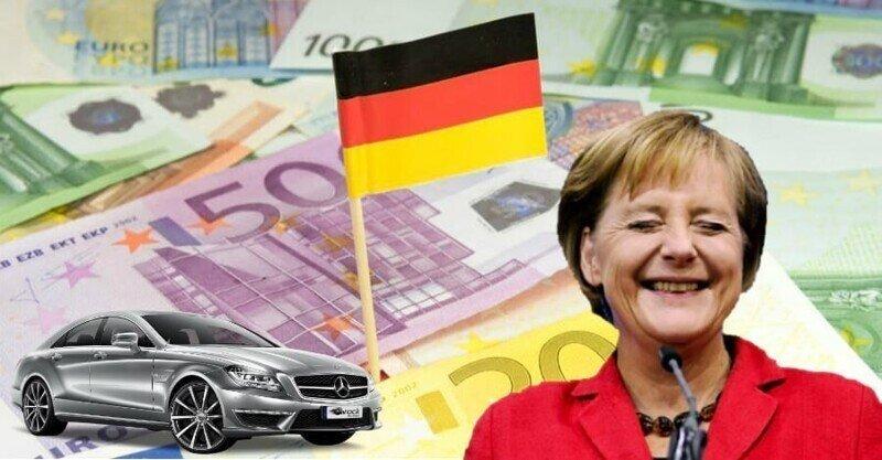 Реальные доходы в Германии