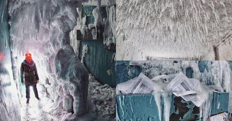 """""""Леденящие душу подъезды"""": фотопроект заброшенных жилищ Воркуты"""