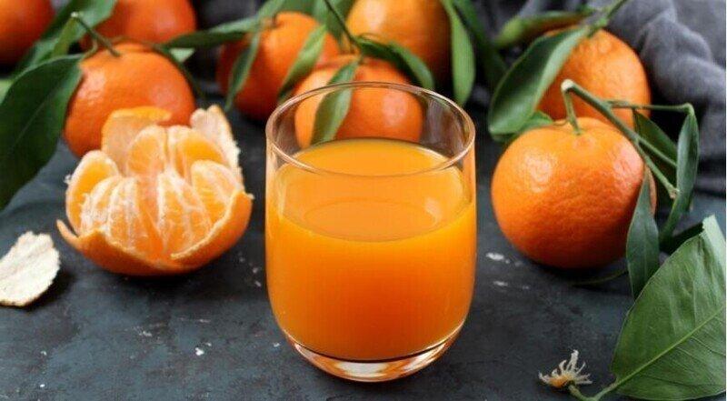 Хотите похудеть - пейте мандариновый сок