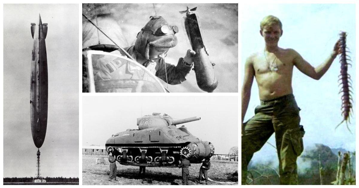 20 удивительно интересных исторических снимков из военной жизни