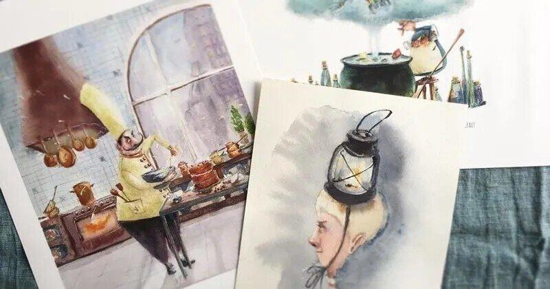 Душевные иллюстрации Анастасии Гриненко