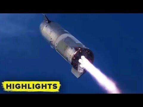 Прототип ракеты компании SpaceX впервые приземлился