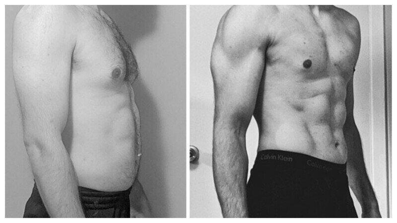 """Тот же вес, другое тело: 30 примеров """"до"""" и """" после"""" тренировок в спортзале"""