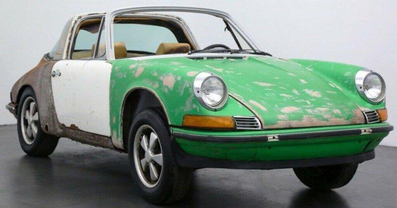 Редкий, но ржавый Porsche 911E Targa 1971 года продается за 40 000 долларов