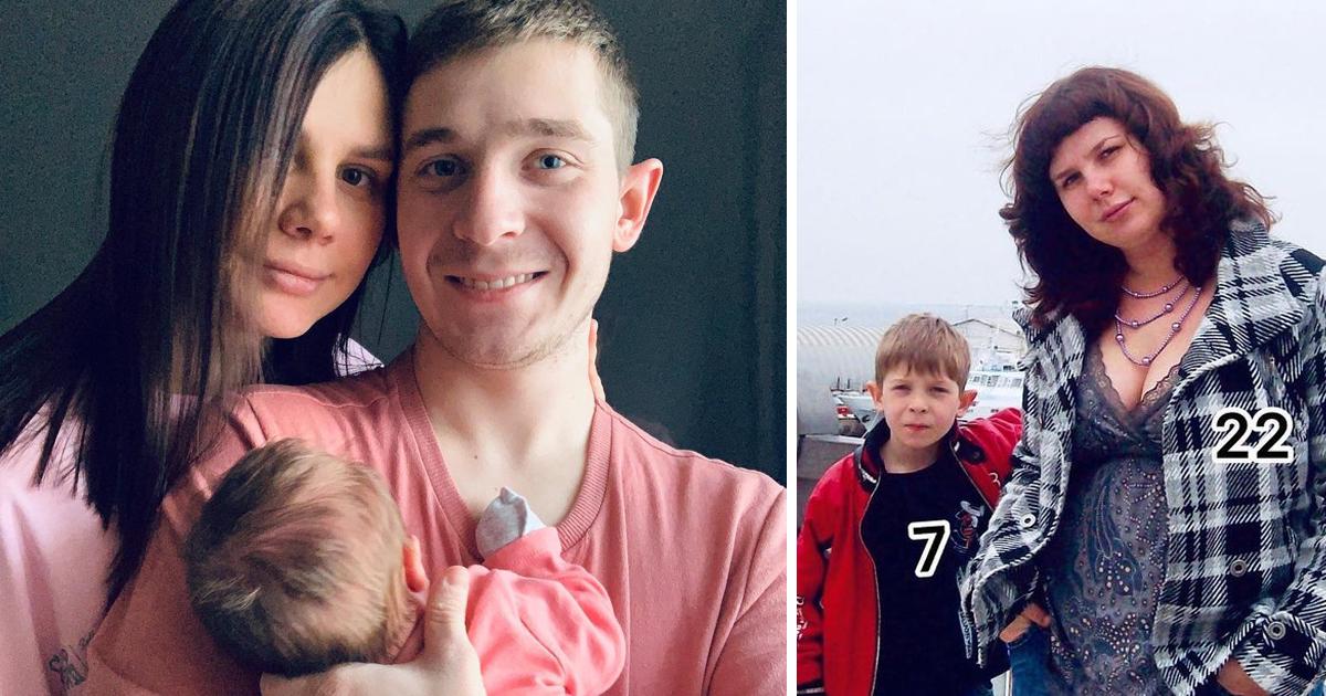 Блогерша вышла замуж за собственного пасынка и родила от него дочь