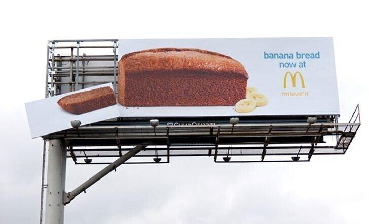 Примеры креативной наружной рекламы