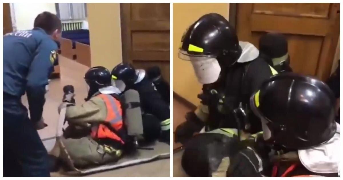 «Зажарит на**й!» Питерские спасатели устроили новобранцам тренировку с матерной бранью